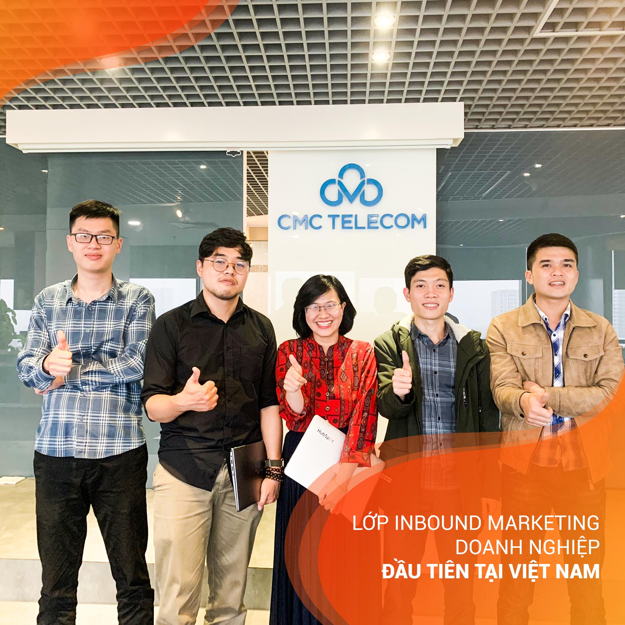 Lớp Inbound Marketing doanh nghiệp đầu tiên tại Việt Nam